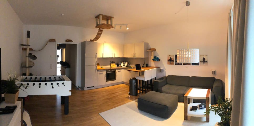 Super schöne 2 Zimmerwohnung, zentral und ruhig