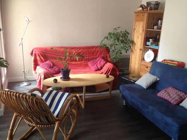 Grande chambre dans Duplex, Place Kléber - Strasbourg - Apartment