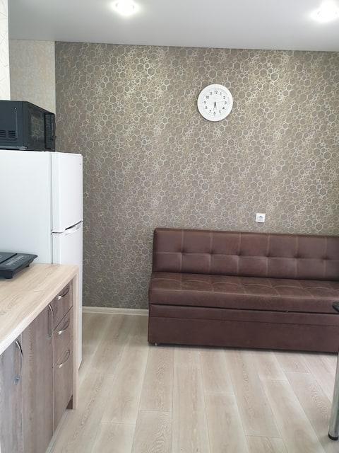 Стильная 1-ая квартира на Набережной