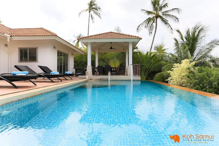 SeaView 3BR Villa-Private Pool&Garden