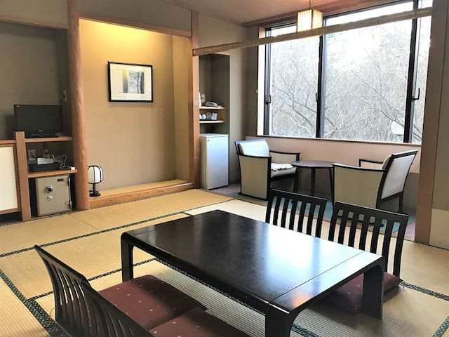 【No meal】Senami Onsen Stay★ About 10 minutes by taxi from JR Murakami station
