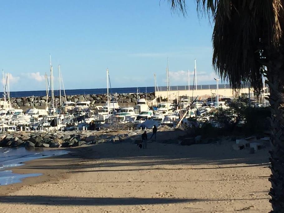 Le port de Saint Aygulf
