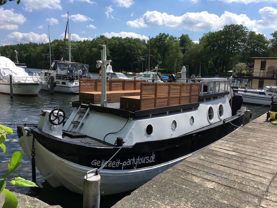 Boot von vorn