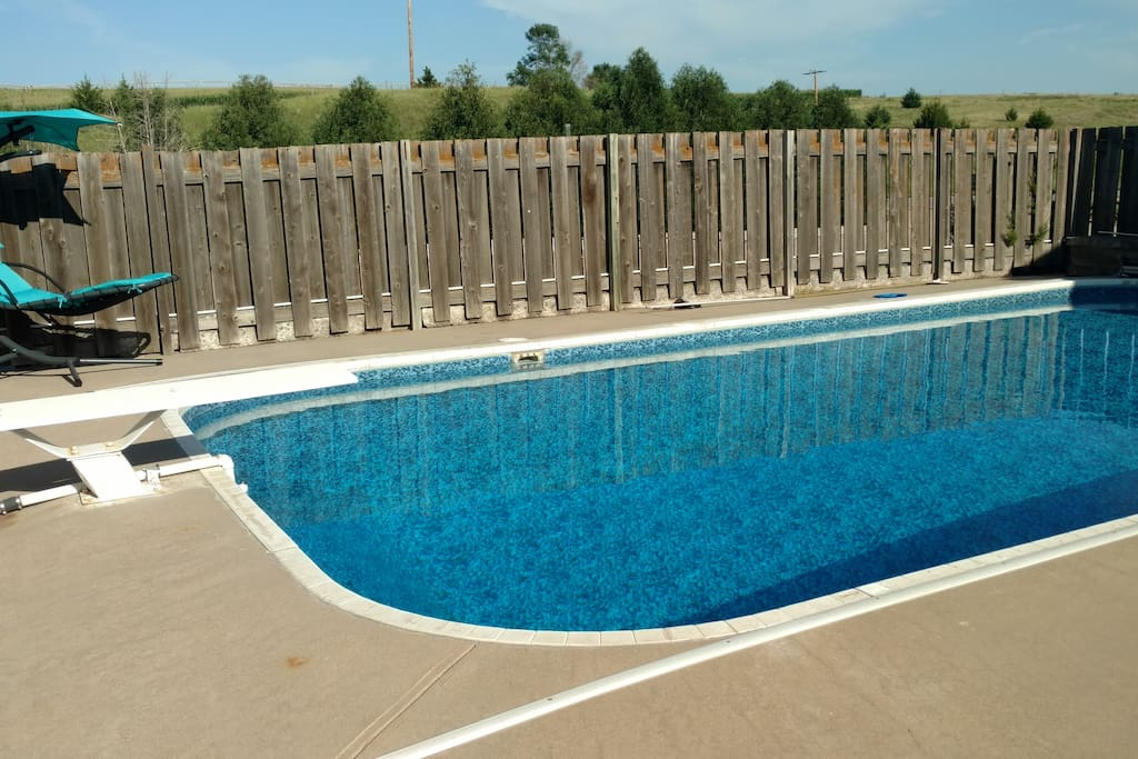Pool and Diving Board
