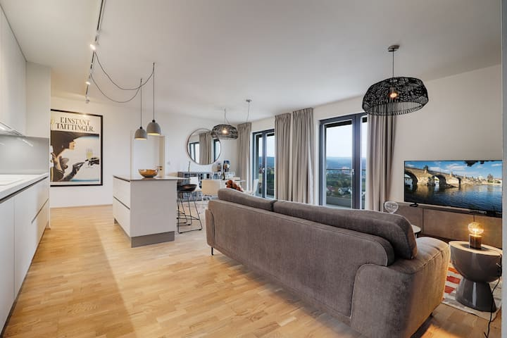 Stunning Luxury Penthouse 15 Min Drive From the Centre JUST LISTED