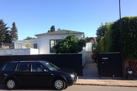 Exclusive house close to beach, forrest and city. - Charlottenlund
