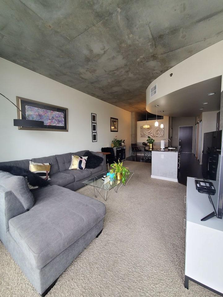 Luxury 1 bedroom with views, amenities in Downtown