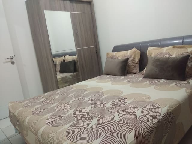 2 bedroom apartment in the heart of the city.
