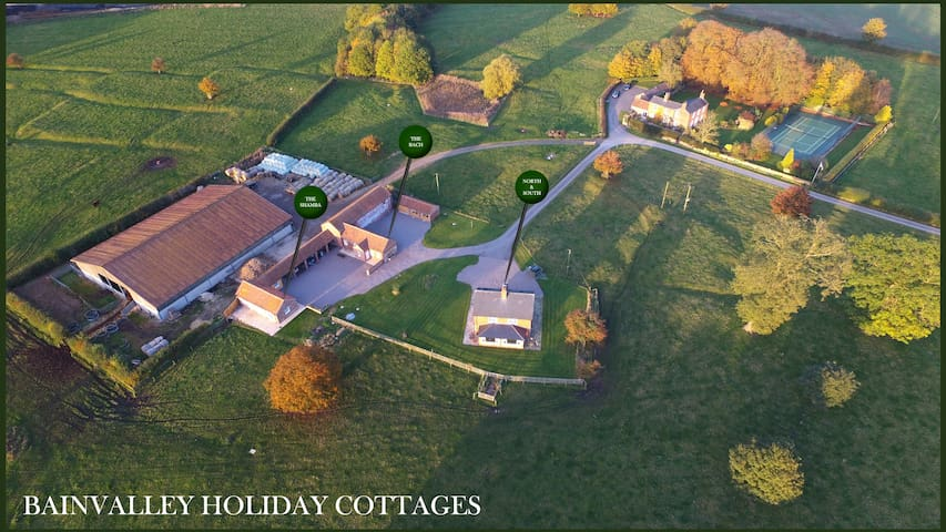 Bainvalley Holiday Cottages - restful haven for 16