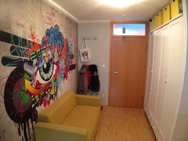 Gemütliches,zentrales Apartment mit Bergpanorama - Innsbruck - Apto. en complejo residencial