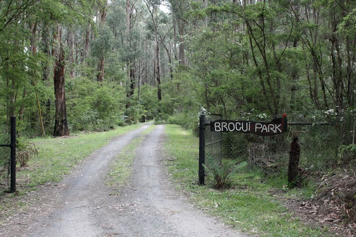 Brogui magical bushland retreat