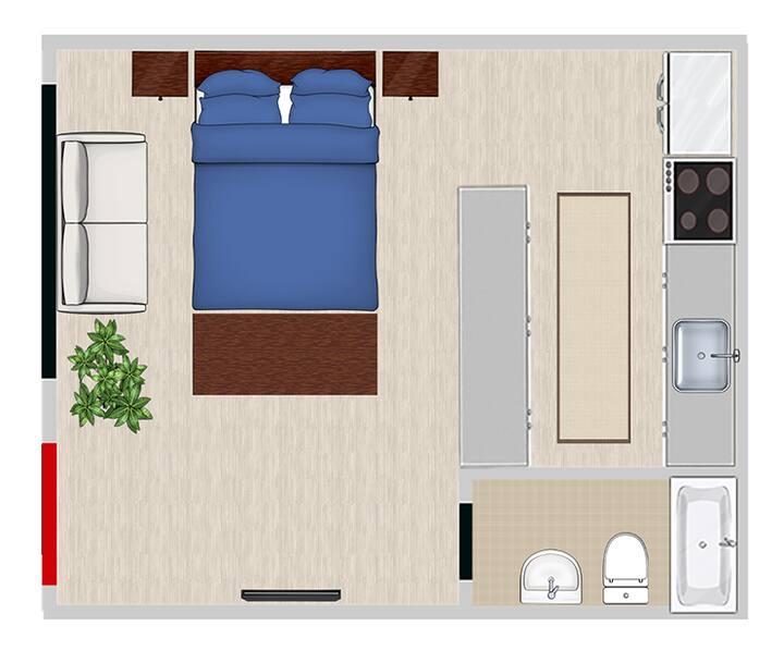 Bear Studio Apartments Unit 10