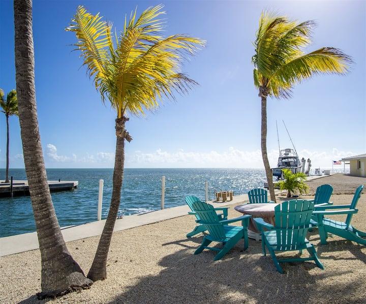 Ocean View Gem 3/2.5 Home 70` Dock Cabana Club MKB