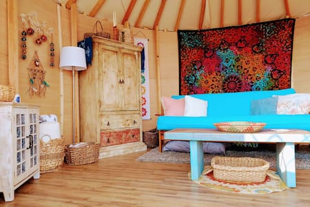Deva Yurt Retreat at Shanti Community