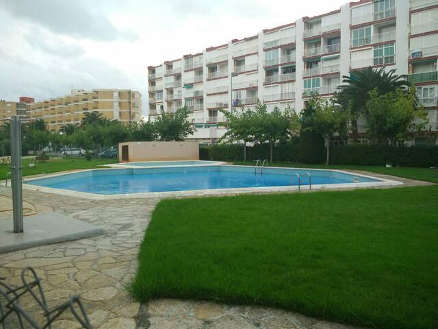Apartamento,playa piscina... - Platja de la Pineda - Apartment