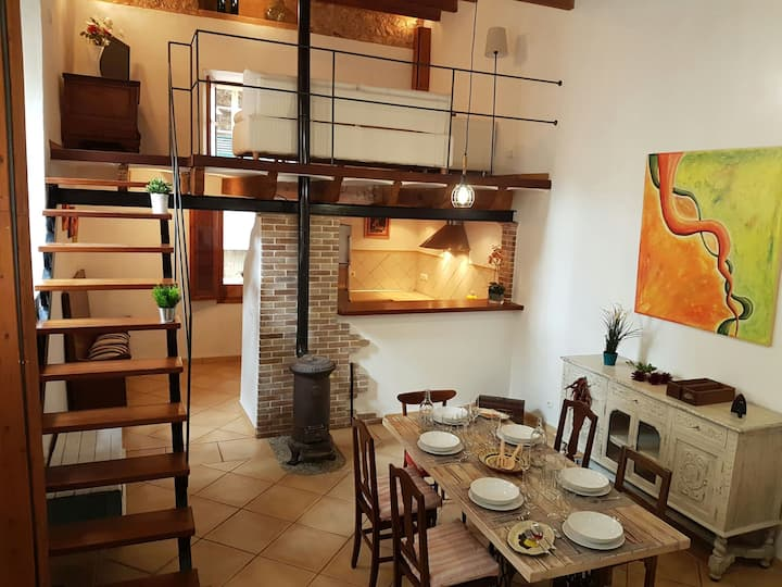 Stylish townhouse in the old town of Sóller