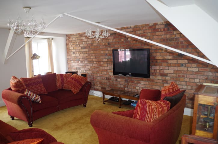 Chandeliers 6 - Self Contained Appartment - Shrewsbury - Daire