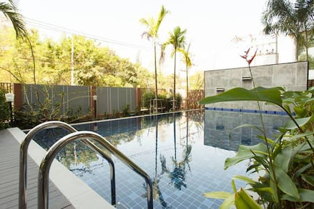 ★Apartment with nature view & pool★ - Wohnung