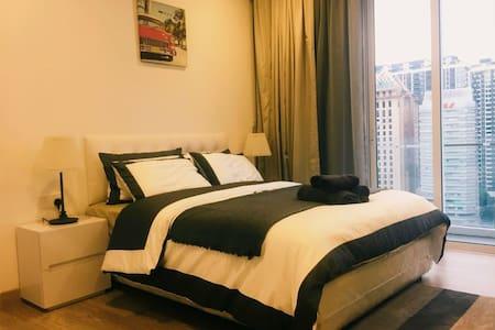 bedroom 1 with comfort queen size bed