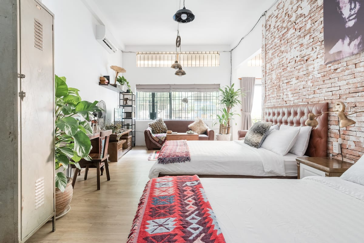 Explore Downtown Sai Gon from a Hip Apartment