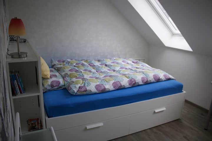 Quiet Room close to city & airport *females only*