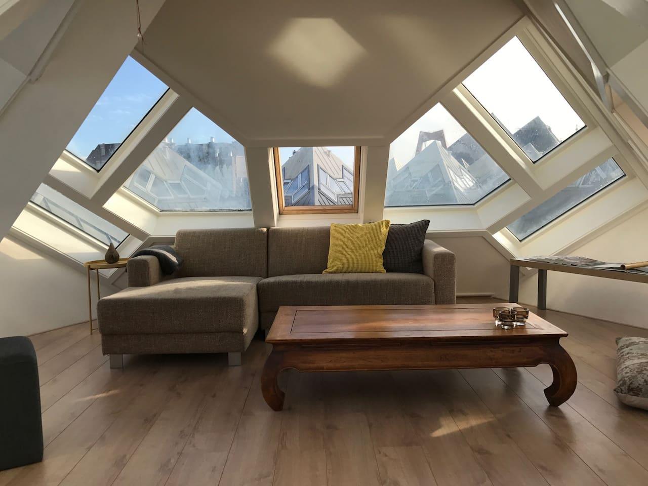 The top floor wirh 360 view