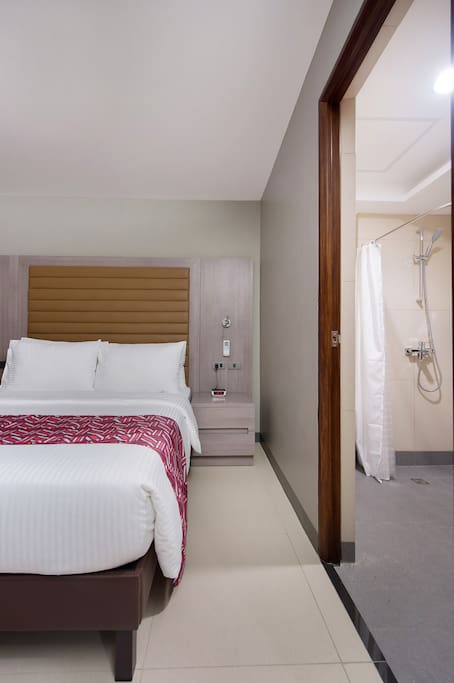 En-suite bathrooms in every room for privacy and convenience.