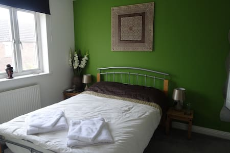 Riverside B&B double ensuite plus own sitting room - Taunton - Maison de ville