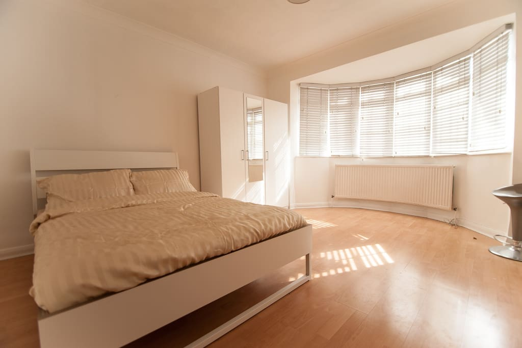 A large bright double room