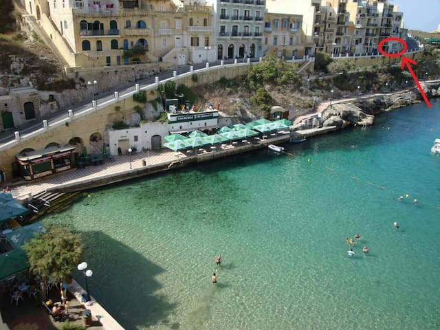 Ground floor Seaview Flat in Xlendi - Il-Munxar - Apartamento