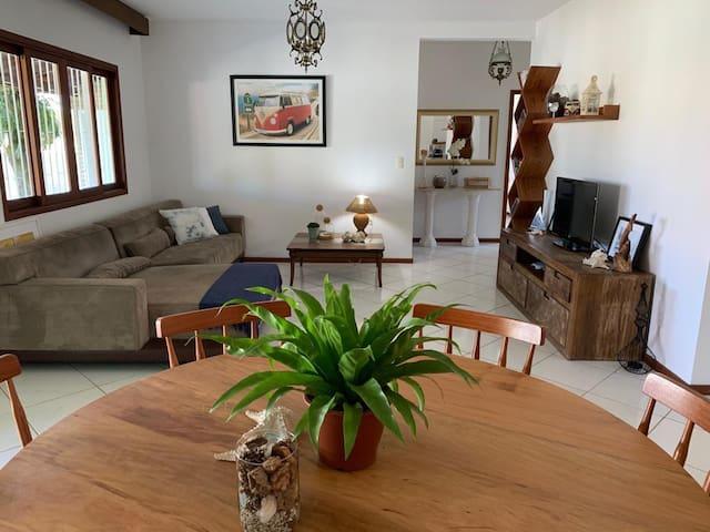 Casa aluguel temporada Pinheira