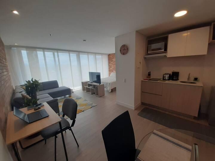 Nuevo y cómodo apartamento en Chapinero