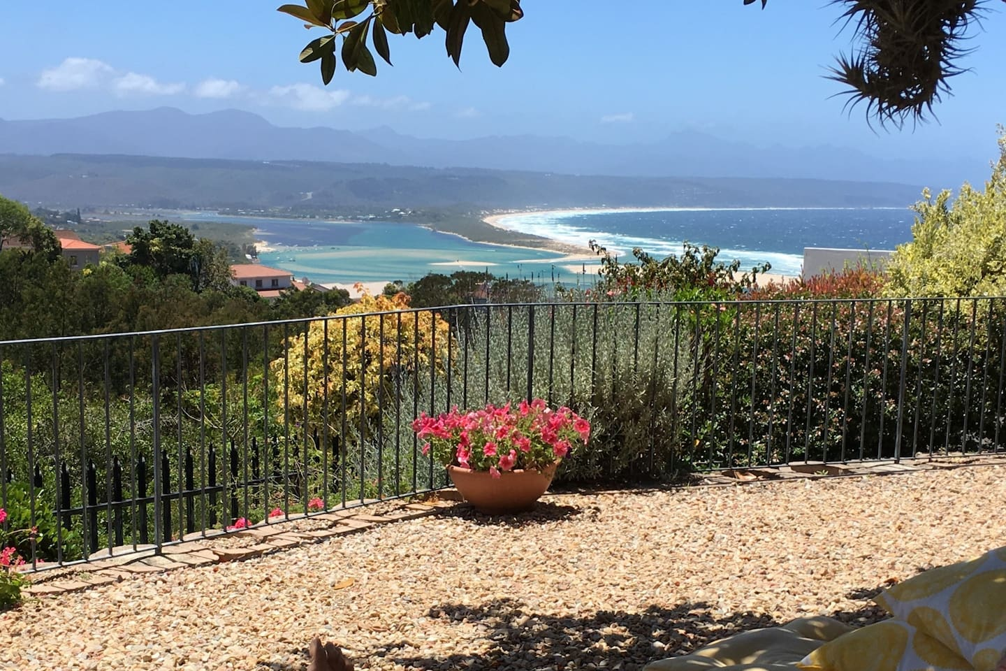 View of Lookout Beach & Lagoon from house
