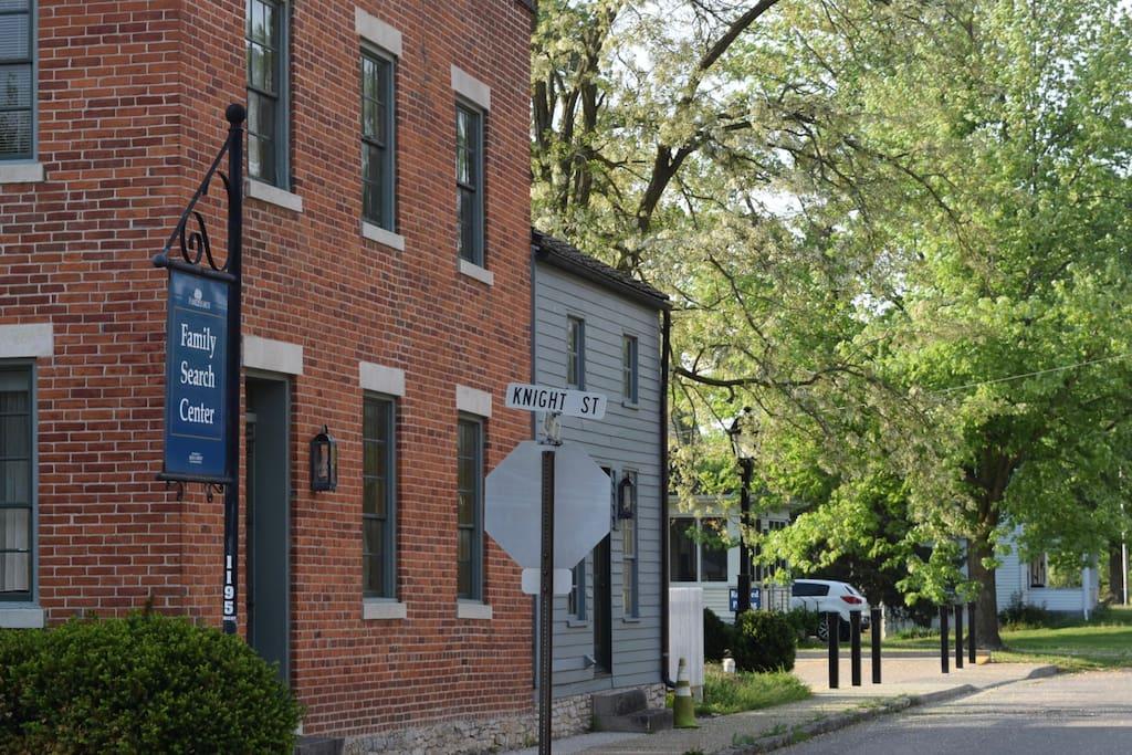 Hop, Skip & Jump to Family History Center