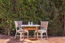 Beautiful outdoor area for you to enjoy.