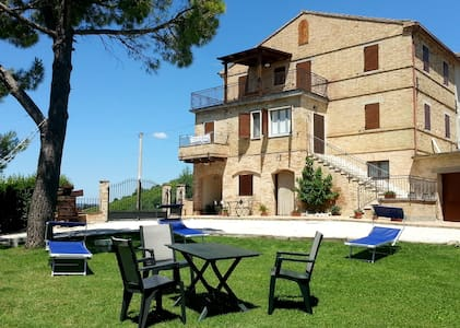 Farmhouse Galanti (Manu apartment) - Cossignano - Leilighet
