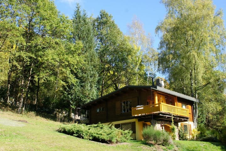 Traditional Chalet in Sapois Vosges with Balcony