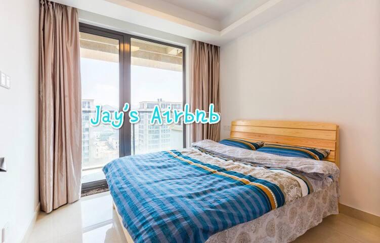 New Queen Size Bedroom in Hangzhou - Hangzhou - Huis