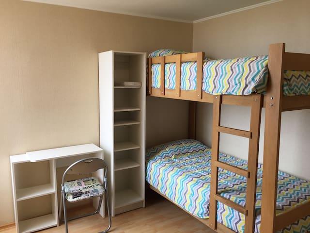 Habitacion con camarote y baño, Cerca Centro Lima