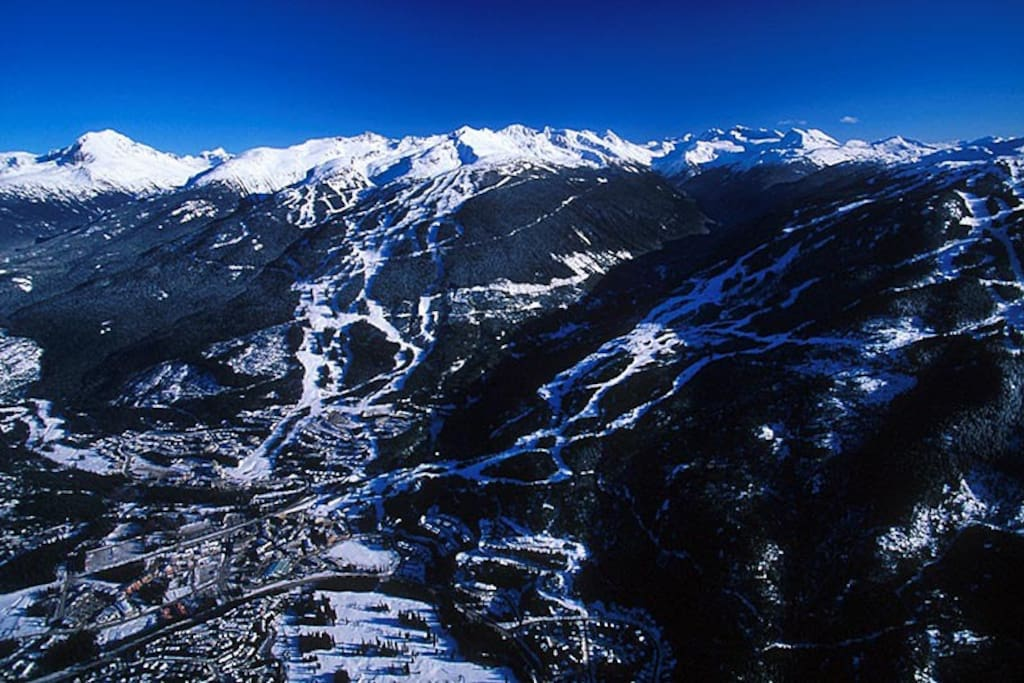 Whistler Blackcomb is just up the road, ranked repeatedly as the #1 ski resort in North America
