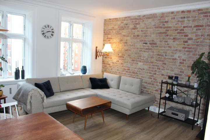 Newly renovated flat centrally located