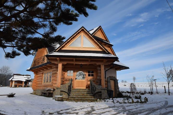 U Zająca pod miedzą - góralski domek z duszą - Ciche - Dom