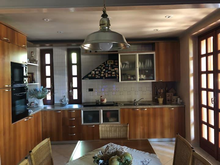 The gnomes' villa in the green heart of Ciociaria