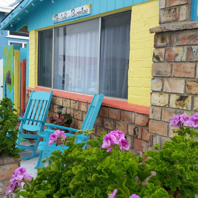 New Welcome look of Marigold Bungalows Front Porch