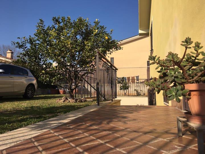 Villa Berta, tranquillità a pochi km dal centro