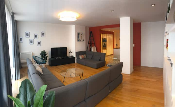 2 bedroom luxury apartment Toulouse center