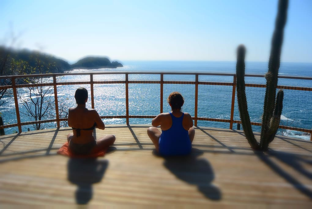Platform for meditation
