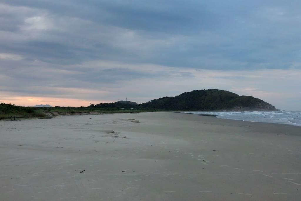 Praia Grande sentido Vila do Farol