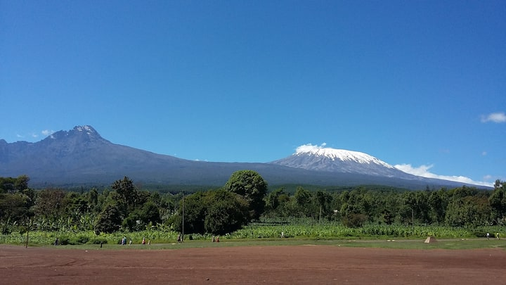 Family-Farm on the Slopes of Mt. Kilimanjaro