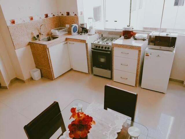 Minidepartamento en 2do piso a 700 mt Mall Plaza
